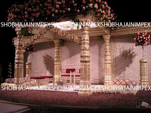 South Indian Temple Wedding Mandapam
