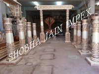 South Indian Temple Wedding Mandapam