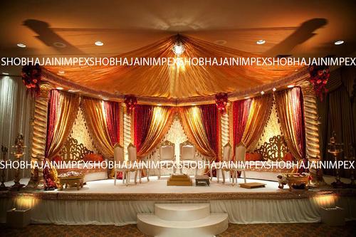 Spiral Pillar Wedding mandap
