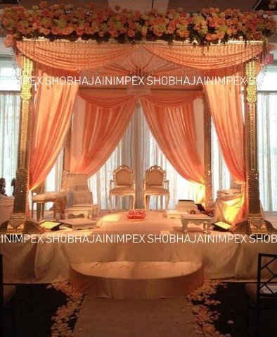 Swaroki Pillar Wedding Mandap