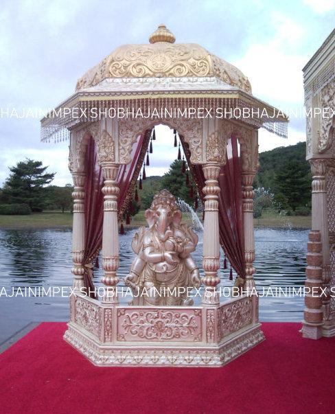 Temple Dome Wedding Mandap