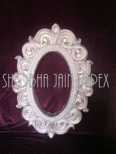 Oval Wedding Fiber Frame