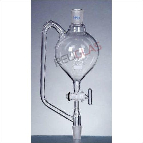 04.585 Pressure Equalizing Funnels, Pear shape