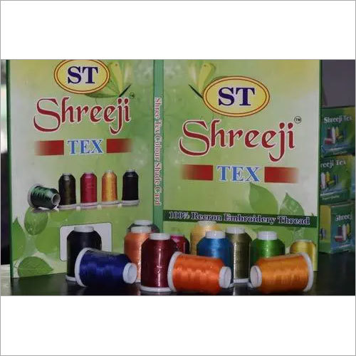 100% Recron Embroidery thread