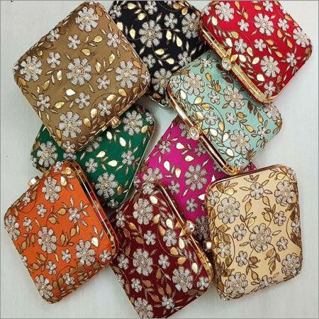 Fancy Designer Box Clutches