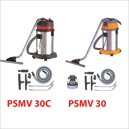 PSMV 30 30C Ltr Stainless Steel Wet & Dry Vacuum Cleaner