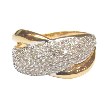 Cubic Zironia Gold jewellery LR 2