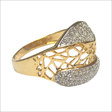 Cubic Zironia Gold jewellery LR 3