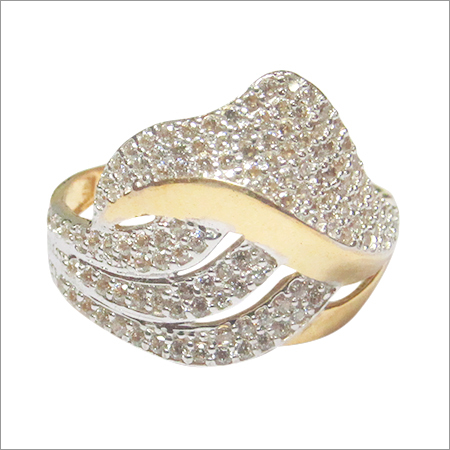 Cubic Zironia Gold jewellery LR 4