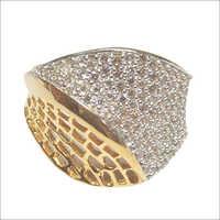 Cubic Zirconia Gold Jewellery LR 5