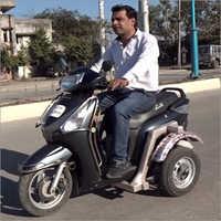 Side Wheel Attachment For Honda Aviator