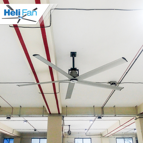 gearless hvls fan