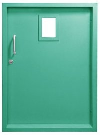Mild Steel Fire Door