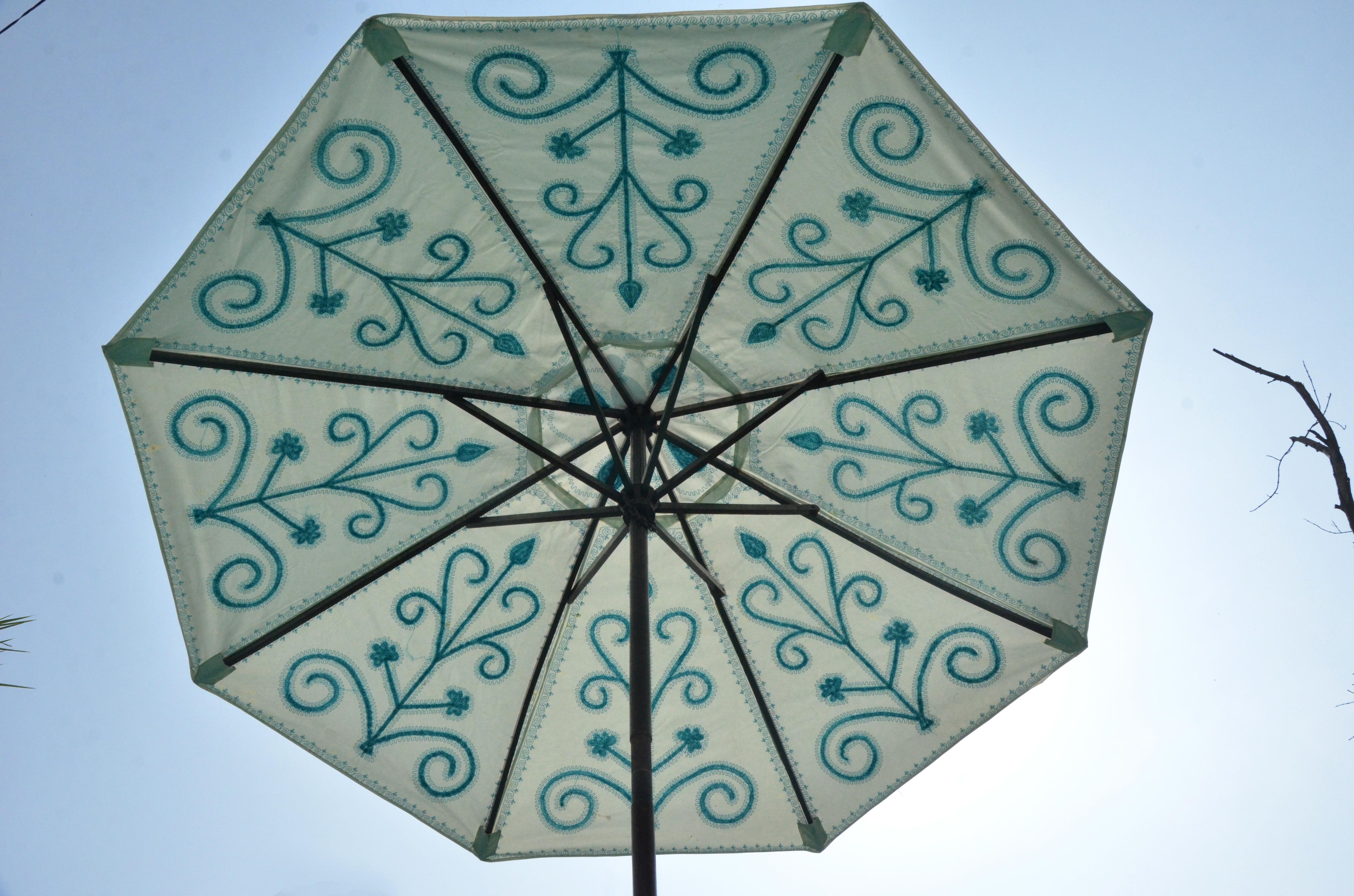 Canvas Beach umbrella