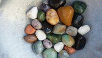 Indian small mix color pebble for decoration, paving and building, pebble stone