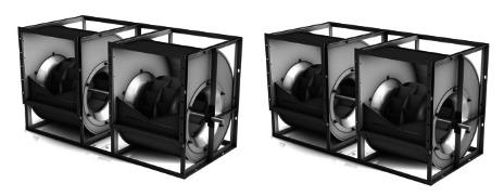 Nicotra Backward Curved Centrifugal Fan RDH 800 K
