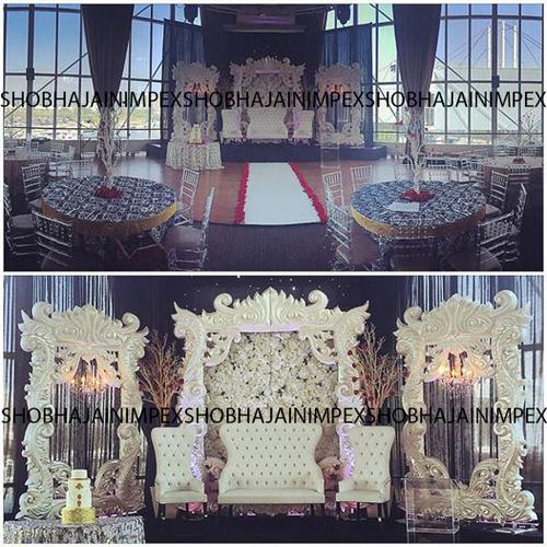Wedding and Reception Fiber Frame