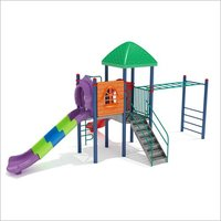 Children Park Slide Station