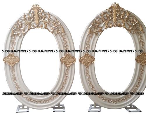 Asian Wedding Fiber Frame