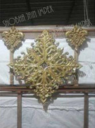 Small Diamond Wedding Fiber Frame