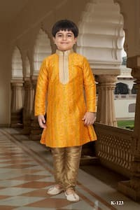 Fancy Wear Kids Kurta Payjama