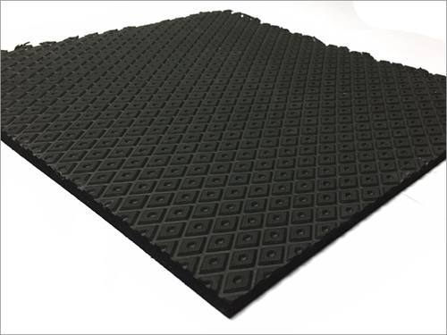 Black EVA Rubber Sole Sheet