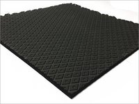 Black EVA Rubber Sole Sheet