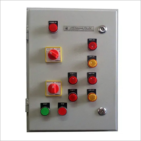 Control Panel for Level Control in Overhead Tank