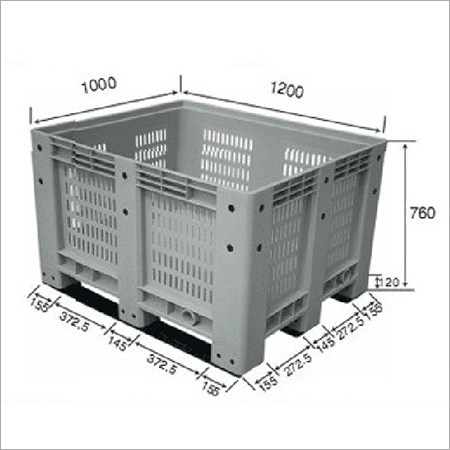 Plastic Pallet Containers