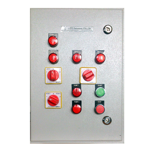 Control Panel for Reactor Charging
