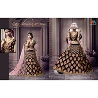 Heavy designer bridal lehenga
