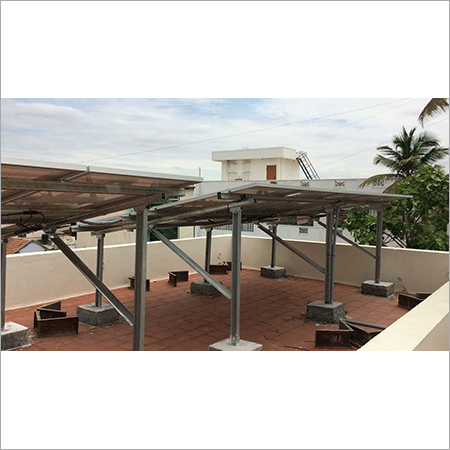 Solar Panel Rooftop Structure