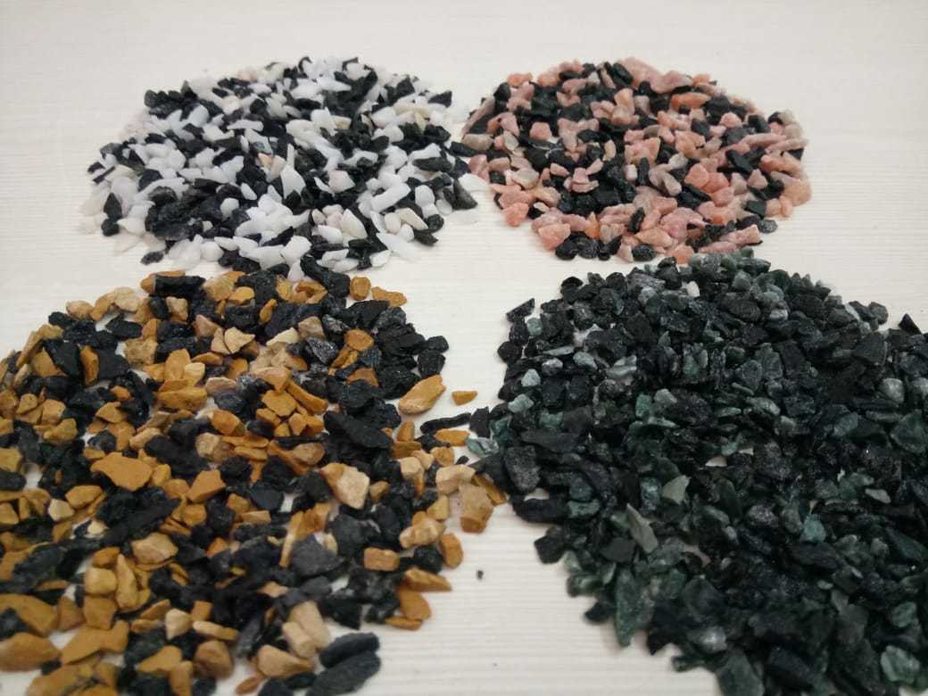 granite chips, crushed stone, marble aggregate chips for sale