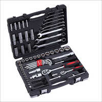 92 pcs 1  2  & 1  4  Dr socket tool set