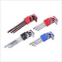 9 Pcs Ball Point Hexagon Wrench Key