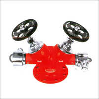 Single Outlet Stainless Steel Landing Valve