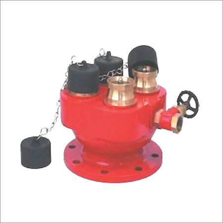 Four Way Inlet Breeching Valve