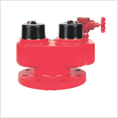 Two Way Inlet Breeching Valve