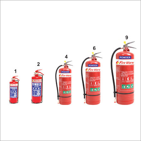 Dry Chemical Powder ABC Type Fire Extinguisher