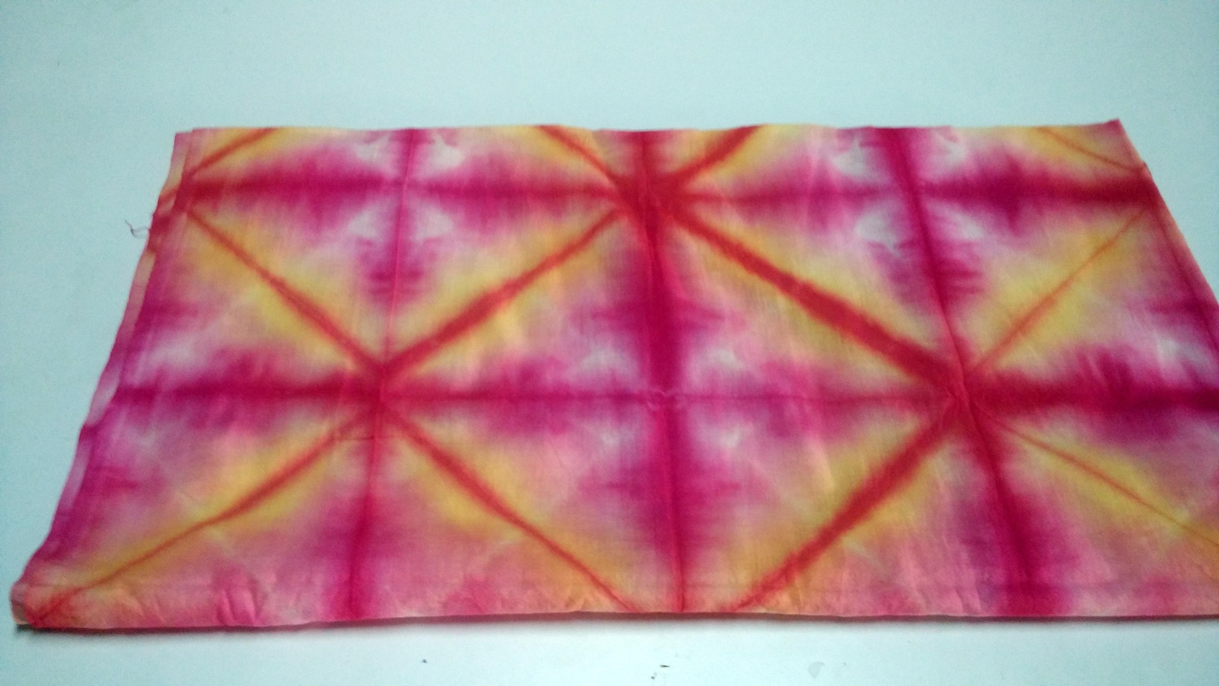 Cotton Printed Sebhori Tie Dye Fabric