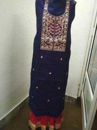 Ladies Chanderi Kurti