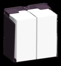 Twin N Fold Tissue Dispensers
