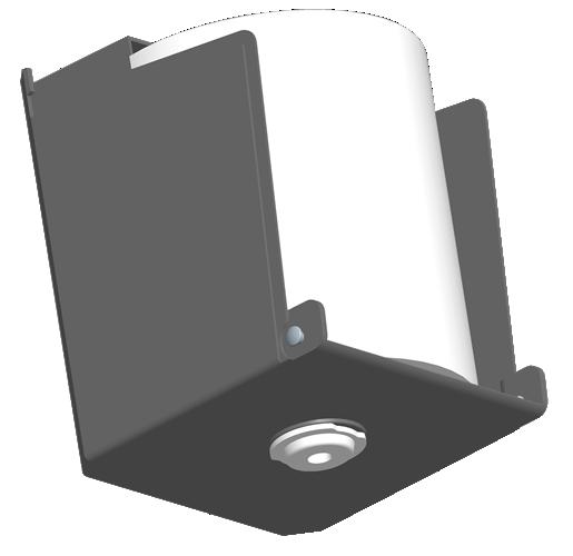 Mini Roll Tissue Dispensers