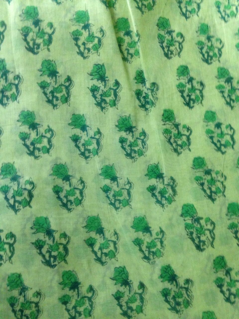 Dotted Printed Running Fabric