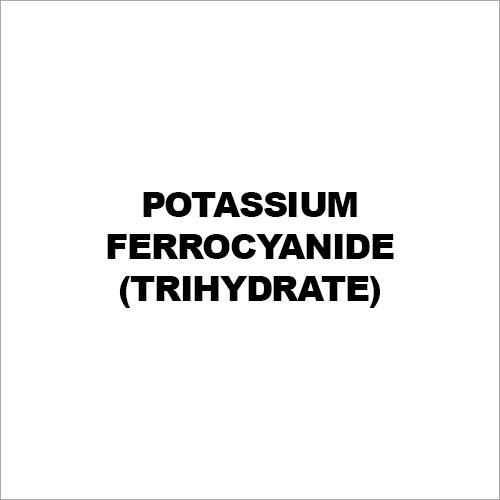Potassium Ferrocyanide (Trihydrate)