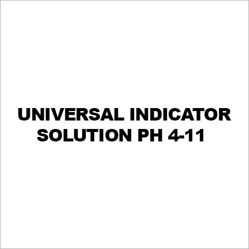 Universal Indicator Solution Ph 4-11