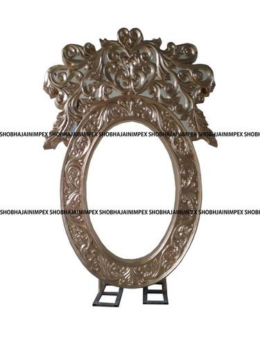 Oval Crown Wedding Fiber Frame