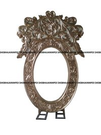 Oval Crown Wedding Fiber Frame