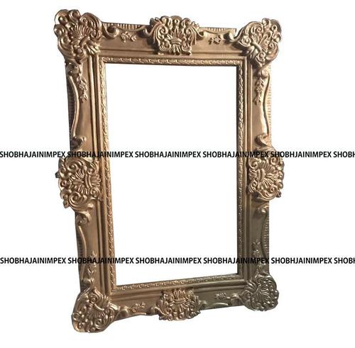 Gold Wedding Fiber Frame