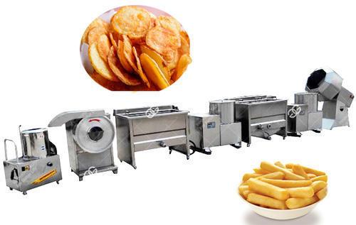 Semi Automatic Potato Chips Making Machine